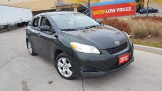 Used 2012 Toyota Matrix 4 Door, A/C, 3 Years Warranty Available for sale in Toronto, ON