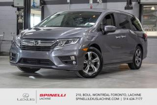 Used 2018 Honda Odyssey *** RÉSERVÉ / ON HOLD *** 8 PASSAGERS - DÉMARREUR À DISCTANCE - PORTES COULISSANTES 2ÈME RANGÉE - AFFICHAGE ANGLES MORT - MAGS for sale in Lachine, QC