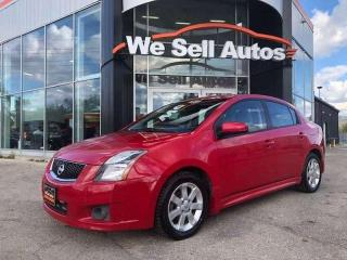 Used 2012 Nissan Sentra 2.0 SR 4dr FWD 4 Door Sedan for sale in Winnipeg, MB