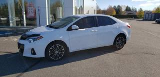 Used 2016 Toyota Corolla S for sale in New Liskeard, ON