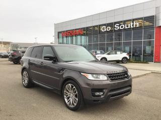 Used 2016 Land Rover Range Rover Sport V8, SUPERCHARGED, 4WD, NAVIGATION for sale in Edmonton, AB