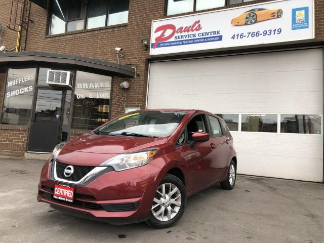 2017 Nissan Versa Note SV-BLUETOOTH-BACKUP CAMERA*CERTIFIED*