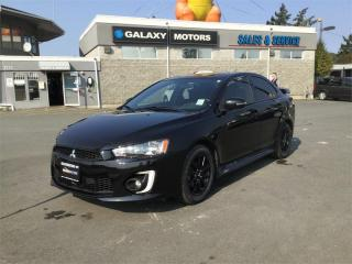 Used 2017 Mitsubishi Lancer SE BLACK EDITION - Moonroof Spoiler for sale in Duncan, BC