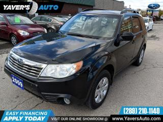 Used 2009 Subaru Forester X w/Premium Pkg for sale in Hamilton, ON
