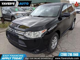 Used 2014 Mitsubishi Outlander ES 4 Cyclinder 4x4 for sale in Hamilton, ON
