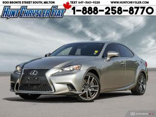 Used 2014 Lexus IS 350 IS 350 | AWD | LEATHER | NAV | SUN & MORE!!! for sale in Milton, ON