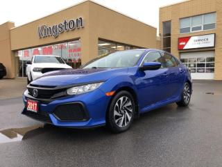 Used 2017 Honda Civic Hatchback Hatchback LX - One Owner, Heated Seats, Backup Cam for sale in Kingston, ON