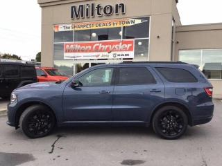 Used 2020 Dodge Durango R/T AWD|LEATHER|DUAL DVD|SUNROOF for sale in Milton, ON