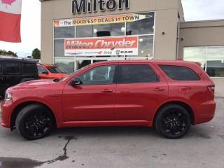 Used 2020 Dodge Durango R/T AWD|LEATHER|DUAL DVD|NAVIGATION|TRAILER TOW for sale in Milton, ON