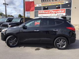 Used 2014 Hyundai Tucson Limited for sale in Milton, ON