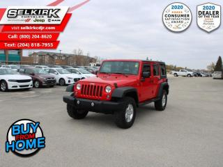 Used 2015 Jeep Wrangler Unlimited Sport - Cruise Control for sale in Selkirk, MB