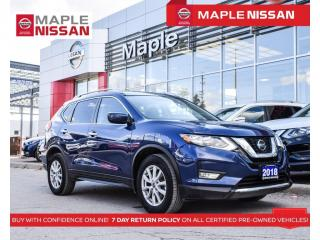 Used 2018 Nissan Rogue SV AWD Blind Spot Apple Carplay Remote Start for sale in Maple, ON
