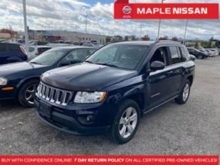Used 2013 Jeep Compass 4WD North Alloys Keyless Entry A/C Cruise Control for sale in Maple, ON