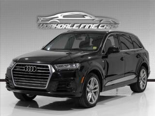 Used 2017 Audi Q7 3.0T S Line Technik Quattro, HUD, 360Cam, Nav, B&O Sound for sale in Concord, ON