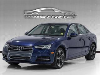 Used 2017 Audi A4 2.0T Technik Pkg, Navi, Cam, BlindSpot, Top Of Line for sale in Concord, ON