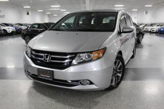 Used 2015 Honda Odyssey TOURING I NAVIGATION I LEATHER I POWER DOORS I REAR CAM I BT for sale in Mississauga, ON