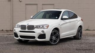 Used 2016 BMW X4 xDrive35i M-SPORT,EXTENDED FACTORY WARRANTY for sale in St. Catharines, ON