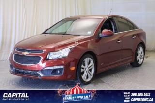 Used 2016 Chevrolet Cruze Limited LTZ*SUNROOF*NAV* for sale in Regina, SK
