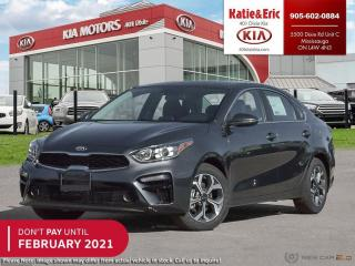 New 2021 Kia Forte EX DON'T PAY TO FEBRUARY 2021 for sale in Mississauga, ON