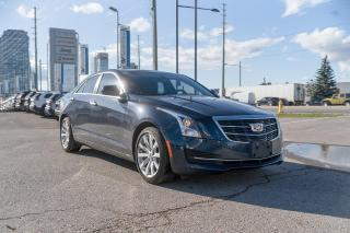 Used 2017 Cadillac ATS 2.0L Turbo LEATHER/SUNROOF/REAR CAMERA for sale in Concord, ON