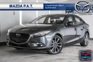 Used 2018 Mazda MAZDA3 MANUELLE,CAMÉRA DE RECUL,CUIR,TOIT OUVRANT for sale in Montréal, QC