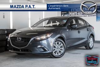 Used 2016 Mazda MAZDA3 AUTOMATIQUE,CAMÉRA DE RECUL,BLUETOOTH,GPS for sale in Montréal, QC
