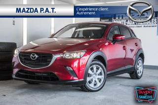 Used 2019 Mazda CX-3 AWD,AUTOMATIQUE,CAMÉRA DE RECUL,BLUETOOTH for sale in Montréal, QC