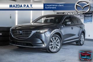 Used 2017 Mazda CX-9 AWD,AUTOMATIQUE,CAMÉRA DE RECUL,TOIT OUVRANT,GPS for sale in Montréal, QC