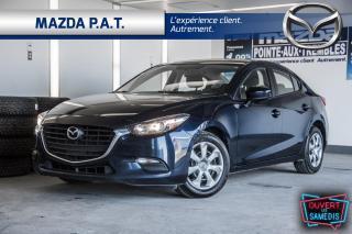 Used 2017 Mazda MAZDA3 AUTOMATIQUE,CAMÉRA DE RECUL,BLUETOOTH,A/C for sale in Montréal, QC