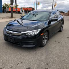 Used 2016 Honda Civic EX auto sunroof cam apple play certified 1owner for sale in Toronto, ON
