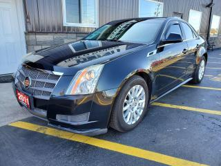 Used 2011 Cadillac CTS Leather-SUNROOF-LEATHER-HEATED SEATS-BLUETOOTH for sale in Tilbury, ON