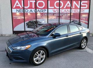 Used 2018 Ford Fusion SE-ALL CREDIT ACCEPTED for sale in Toronto, ON