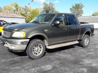 Used 2002 Ford F-150 King Ranch for sale in Welland, ON