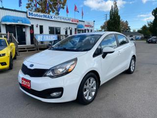 Used 2013 Kia Rio LX+ ECO-ONE OWNER for sale in Stoney Creek, ON