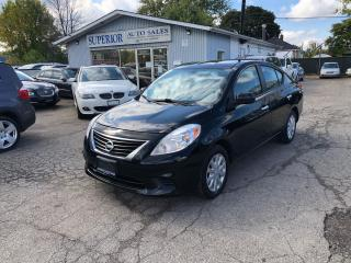 Used 2012 Nissan Versa 1.6 SV for sale in St Catharines, ON