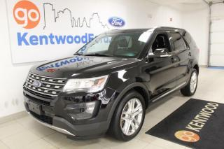 Used 2016 Ford Explorer 3 MONTH DEFERRAL! *oac | 3 Rows | AWD | Heated Leather seats | Sunroof for sale in Edmonton, AB