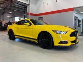 Used 2016 Ford Mustang EcoBoost Premium 2dr RWD Fastback for sale in Red Deer, AB