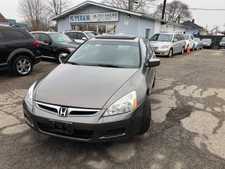 Used 2006 Honda Accord SE for sale in St Catharines, ON