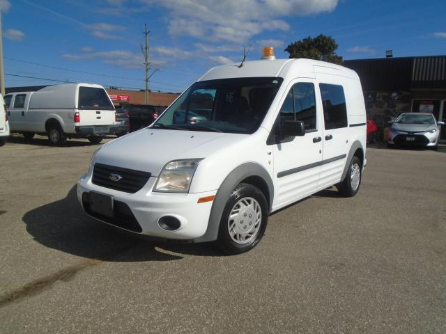 "2012 Ford Transit Connect 114.6"" XLT w/rear door glass very low km no accide"