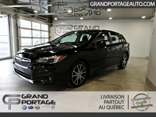 Used 2019 Subaru Impreza 2.0i Sport 5 portes CVT Eyesight for sale in Rivière-Du-Loup, QC