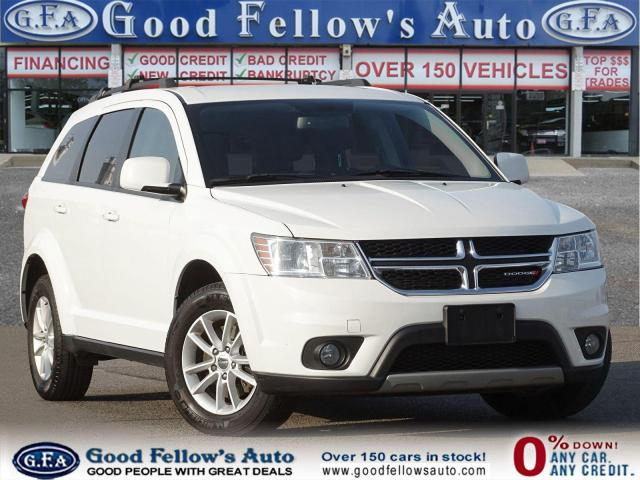 2016 Dodge Journey SXT MODEL, 7 PASSANGER, ALLOY