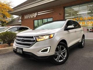 Used 2016 Ford Edge Titanium FWD Navi Panoramic Sunroof R.Cam Certif* for sale in Concord, ON