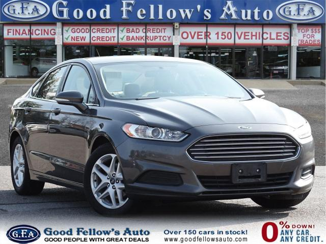 2016 Ford Fusion SE MODEL, 2.5L 4CYL, POWER SEATS, REARVIEW CAMERA