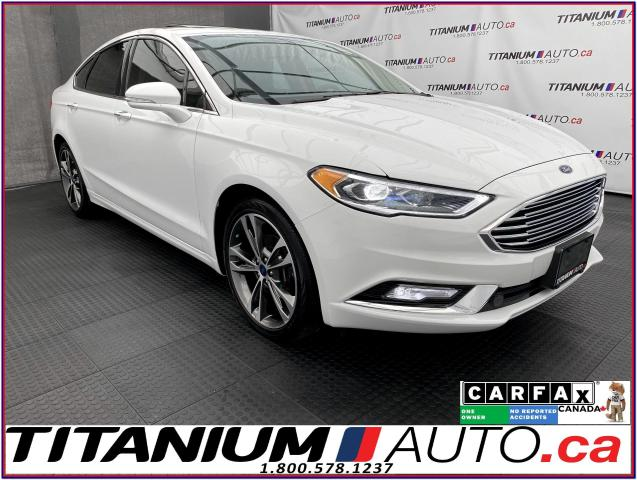 2017 Ford Fusion Titanium+AWD+GPS+Cooled Leather+Sunroof+Camera+XM