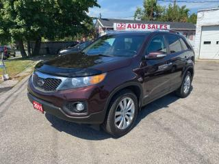 Used 2011 Kia Sorento EX/Automatic/Leather/2 Sunroofs/Bluetooth/Camera for sale in Scarborough, ON