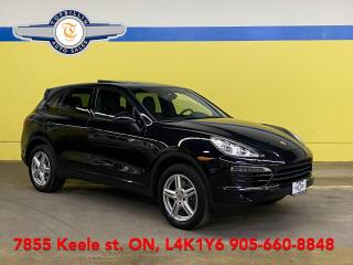 Used 2014 Porsche Cayenne Pano Roof, Navi, Black on Black for sale in Vaughan, ON