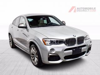 Used 2017 BMW X4 M40i xDrive M Pack Cuir Toit GPS Sièges Chauffants for sale in Île-Perrot, QC