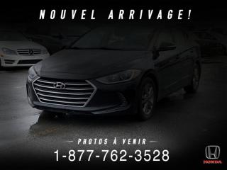 Used 2017 Hyundai Elantra GL + A/C + AUTO + MAGS + WOW! for sale in St-Basile-le-Grand, QC