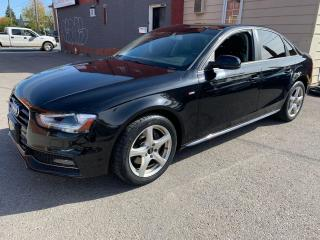 Used 2015 Audi A4 Komfort Plus S Line for sale in Oshawa, ON
