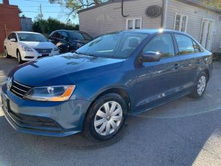 Used 2017 Volkswagen Jetta TRENDLINE+ 1 OWNER, NO ACCIDENTS for sale in Oshawa, ON